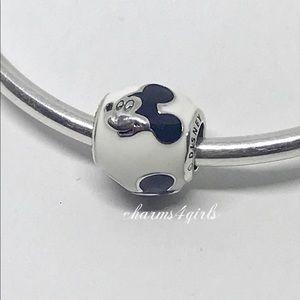 Authentic Pandora expressive Mickey mouse white